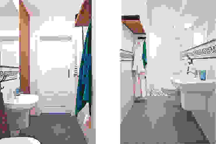 Rustic style bathroom by IDAFO projektowanie wnętrz i wykończenie Rustic