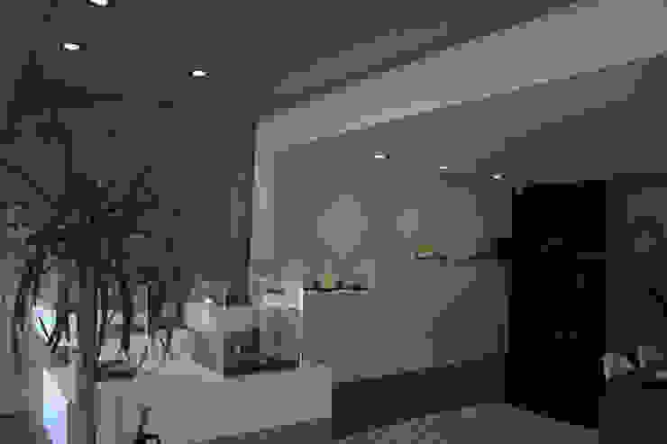 Loja Cacciatrice - Jóias actuais Paredes e pisos modernos por Neourb - arquitectura Moderno