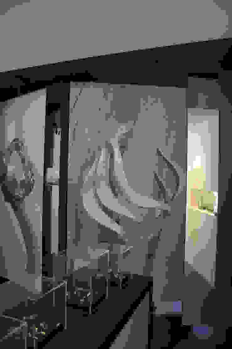 Loja Cacciatrice – Jóias actuais Paredes e pisos modernos por Neourb - arquitectura Moderno