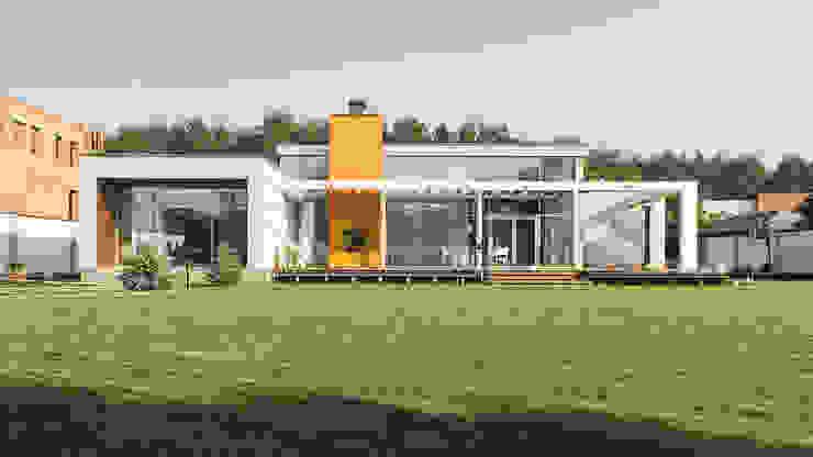 K–house Дома в стиле минимализм от yurima architects Минимализм