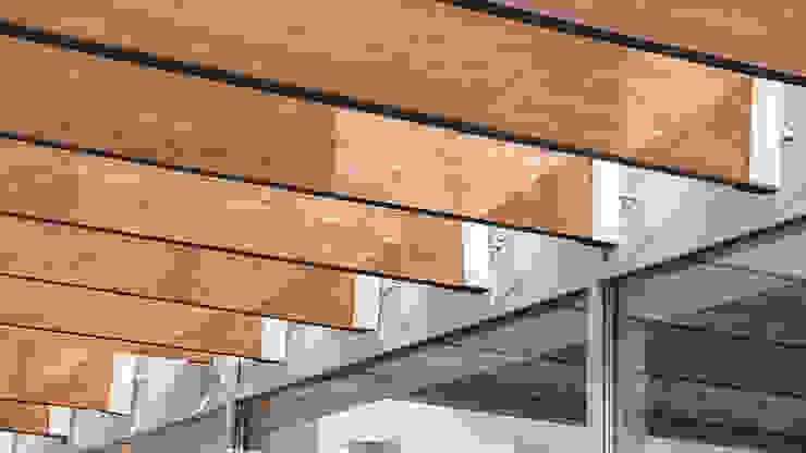 K–house Дома в стиле минимализм от yurima architects Минимализм Дерево Эффект древесины