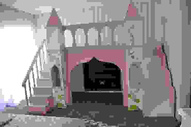 Projeto e Decoração – Quarto Princesa Quartos de criança modernos por Detalhes & Design Moderno