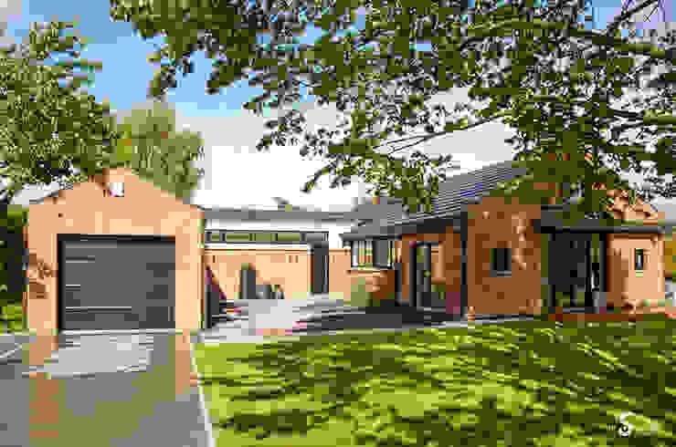 Minimalist house by Emilie Bigorne, architecte d'intérieur CFAI Minimalist Bricks