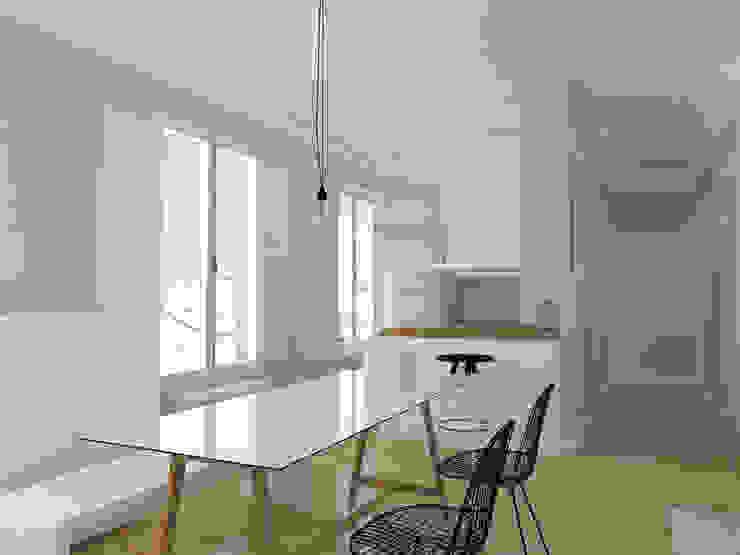 APARTAMENTO EN JUAN FLOREZ Cocinas de estilo escandinavo de ESTUDIO BAO ARQUITECTURA Escandinavo