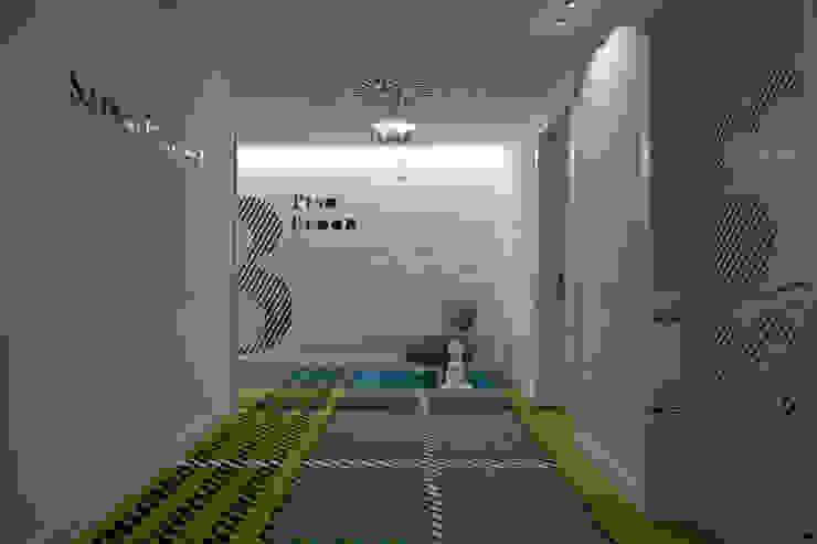 Maçarico Beach Hotel by Ipotz Studio Hotéis modernos por Ipotz Studio Moderno