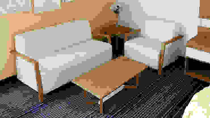 Mesa de Centro de diesco Moderno Compuestos de madera y plástico