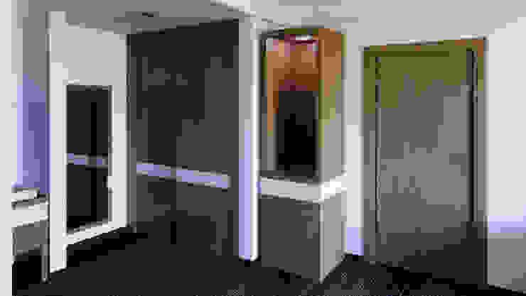 Closet y Torre de diesco Moderno Compuestos de madera y plástico