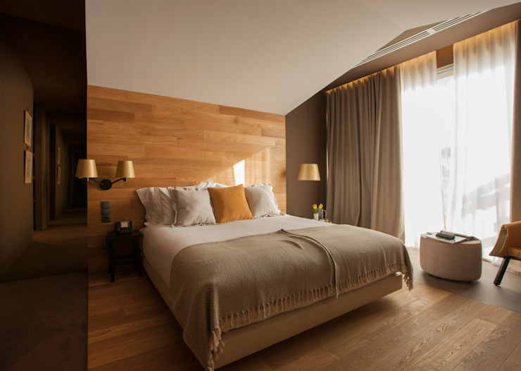 Vale D´Azenha Hotel & Residence by Ipotz Studio: Hotéis  por Ipotz Studio,Campestre