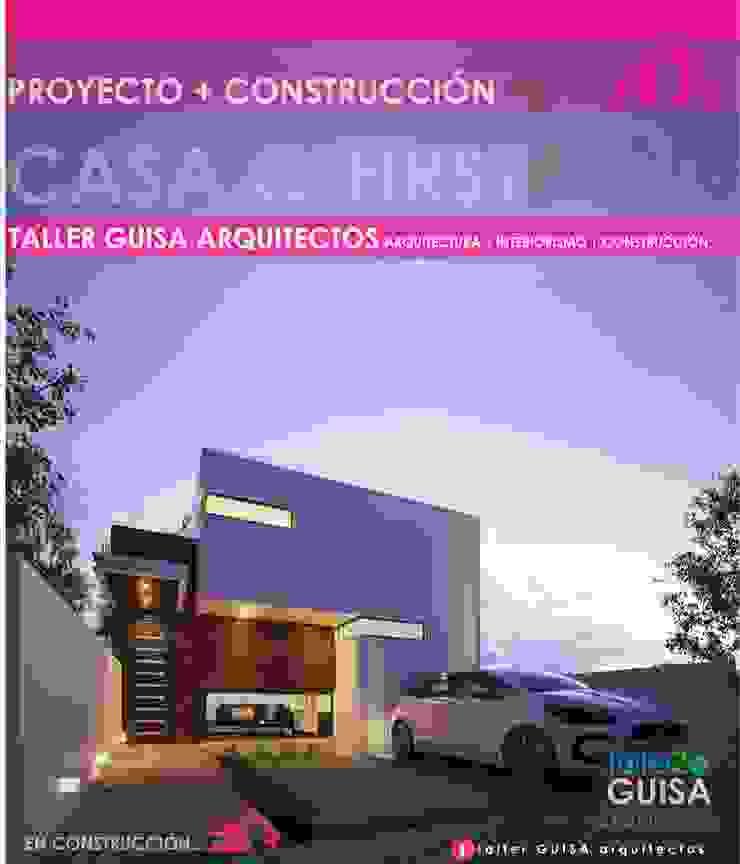 CASA C-FIRST ONE Casas minimalistas de taller Guisa arquitectos Minimalista