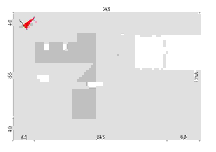Projekty domów - House x03 od Majchrzak Pracownia Projektowa Nowoczesny