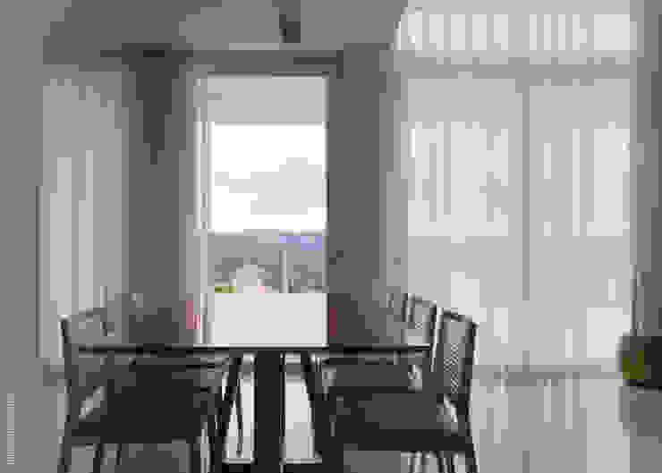 Casa Alphaville 1 Salas de jantar modernas por AURORA Arquitetura - Design 4 Stays Moderno