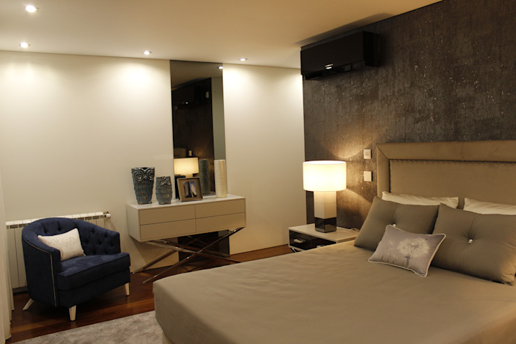 Modern style bedroom by Grupo HC Modern