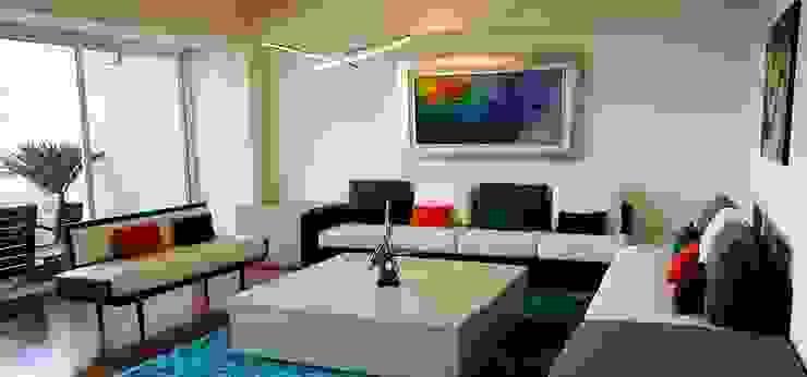Salon moderne par Valeriano Villegas Moderne
