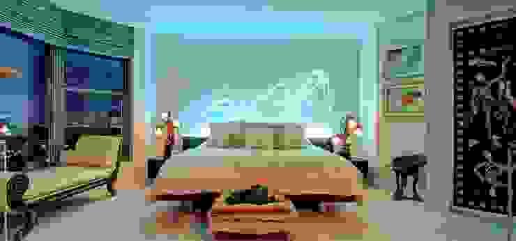Chambre moderne par Valeriano Villegas Moderne