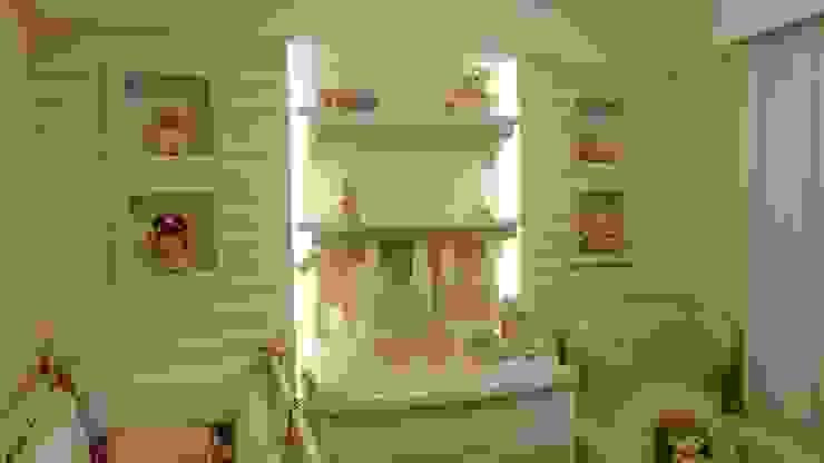 Quarto de bebê Candy Colors Quarto infantil eclético por Square Arquitetura Eclético