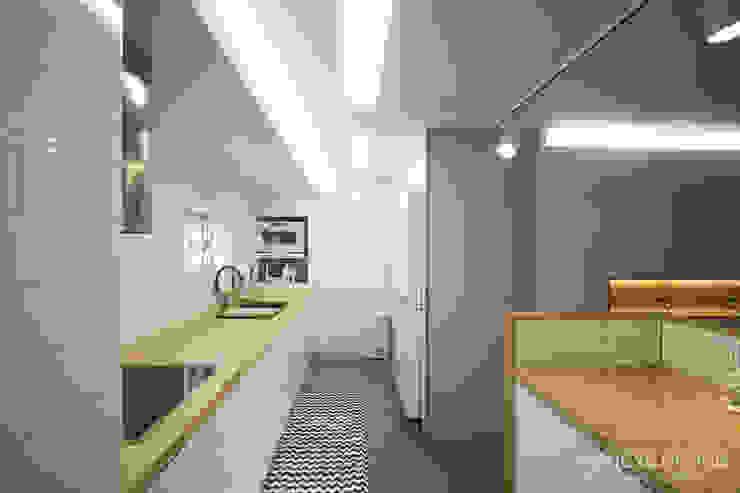 Cozinhas modernas por 홍예디자인 Moderno