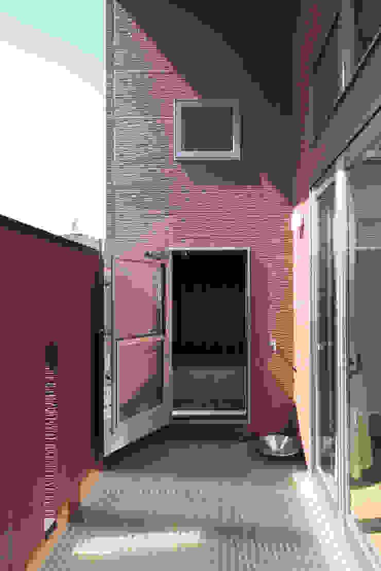 千葉の家-レイソルサポーターが柏に建てた家- オリジナルスタイルの お風呂 の atelier m オリジナル