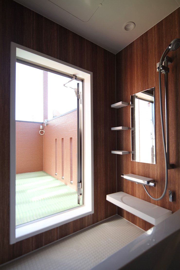 バスルーム オリジナルな スパ の atelier m オリジナル