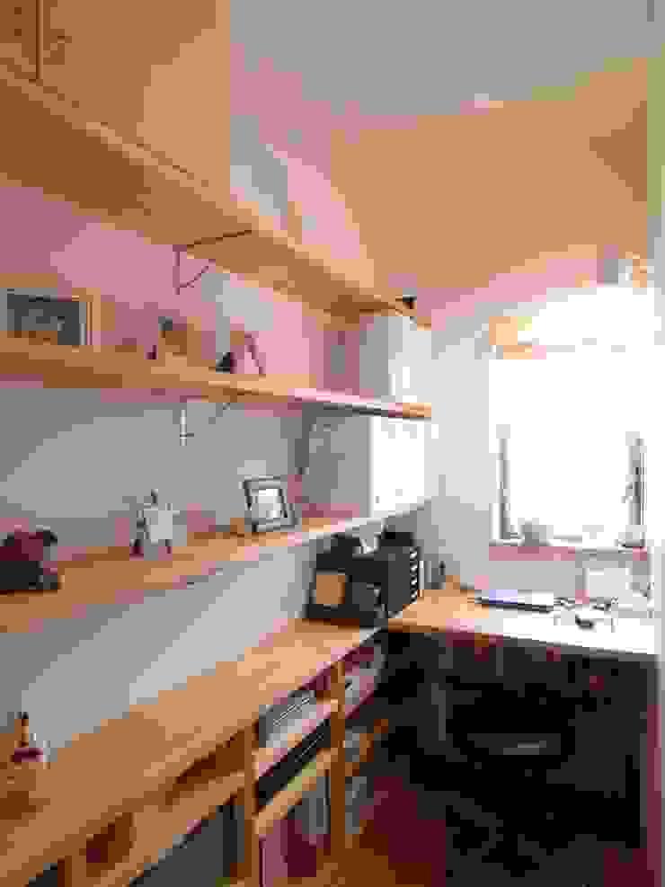鷹匠町の家 モダンデザインの 書斎 の 株式会社 atelier waon モダン
