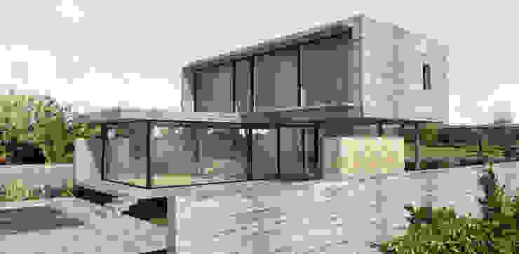 Minimalist houses by ESTUDIO BAO ARQUITECTURA Minimalist