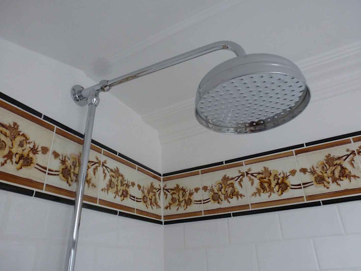 Converting Out Building into Shower Room by Paul D'Amico Remodels Класичний