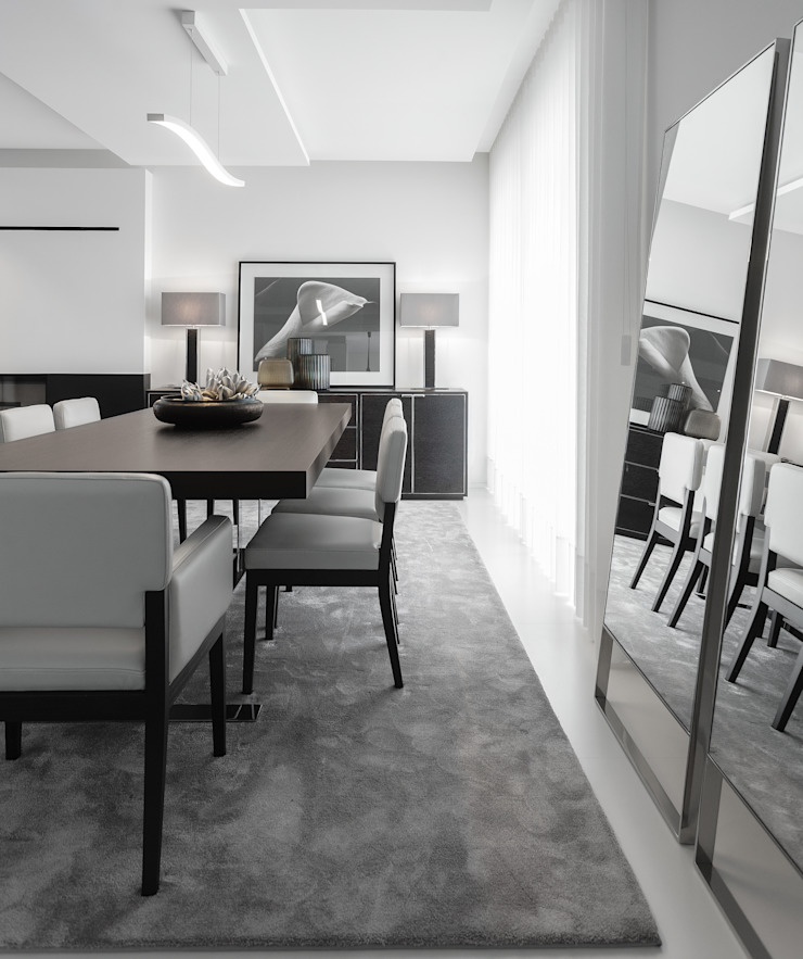 Modern dining room by CASA MARQUES INTERIORES Modern