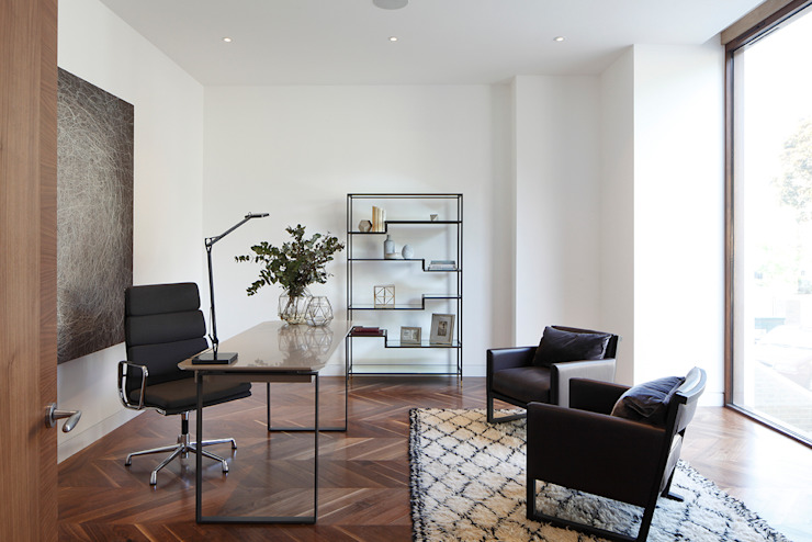 Macauley Road Townhouses, Clapham Modern study/office by Squire and Partners Modern