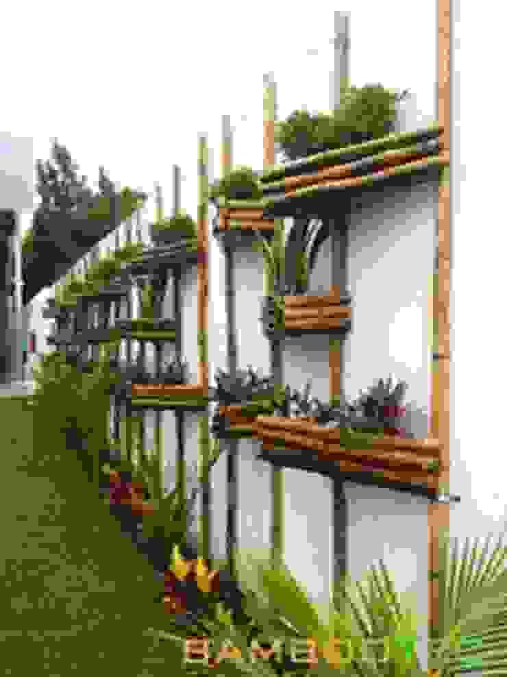 Vườn phong cách hiện đại bởi Bambootec Hiện đại