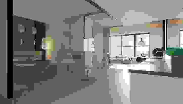 Апартаменты в стиле Лофт Кухня в стиле лофт от Архитектурное бюро DR House Лофт