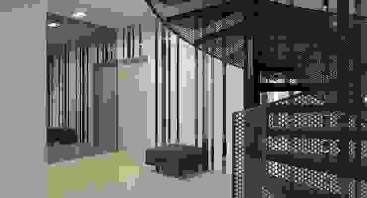 Пентхаус для денди Коридор, прихожая и лестница в стиле лофт от Архитектурное бюро DR House Лофт