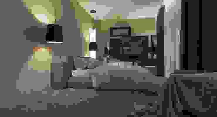 Пентхаус для денди Спальня в стиле лофт от Архитектурное бюро DR House Лофт