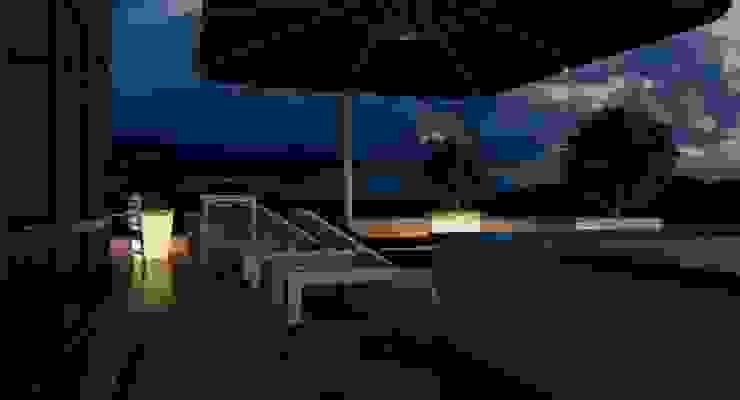 Пентхаус для денди Балкон и веранда в стиле лофт от Архитектурное бюро DR House Лофт