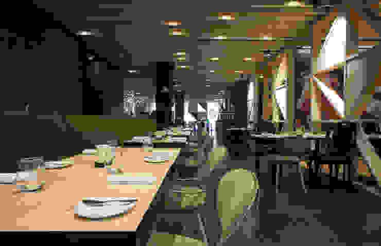 Tabik Restaurant by Ipotz Studio by Ipotz Studio Modern