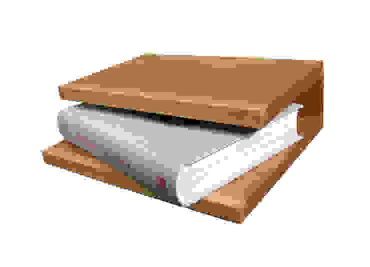 nachtschapje van PouPou Minimalistisch Massief hout Bont