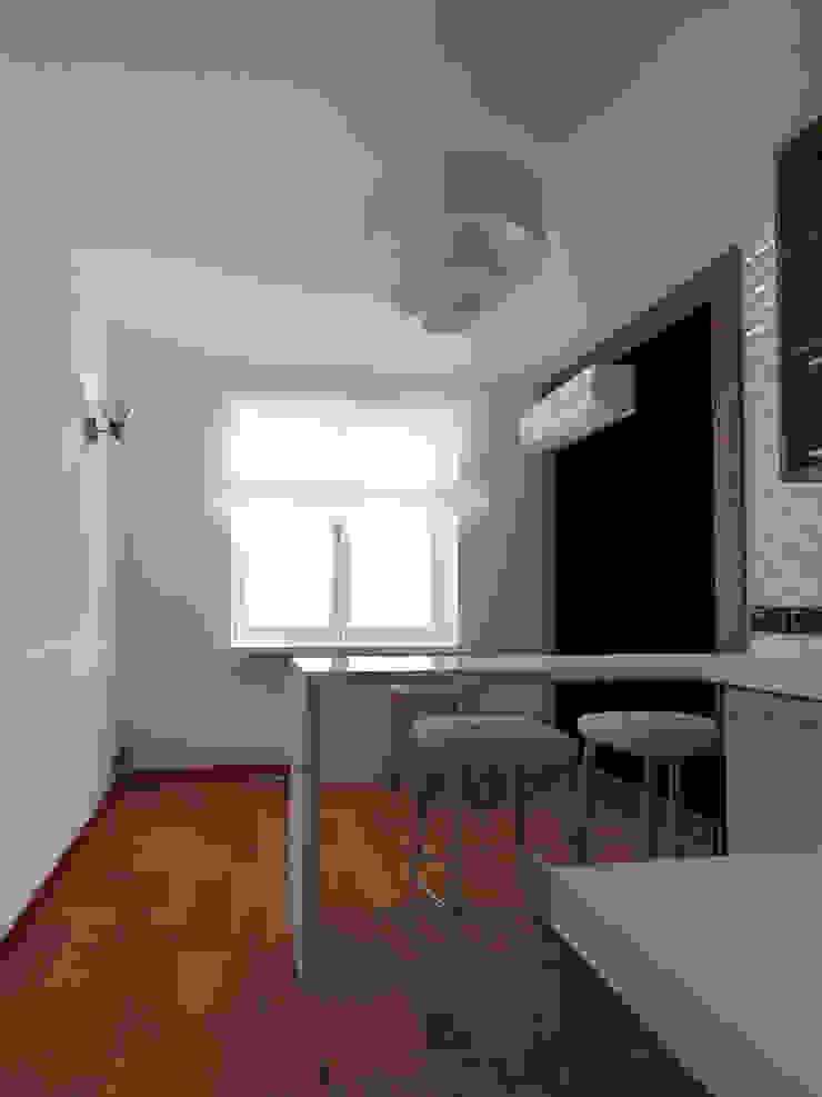 Кухня, вид1 Кухня в скандинавском стиле от Марина Козлова Скандинавский
