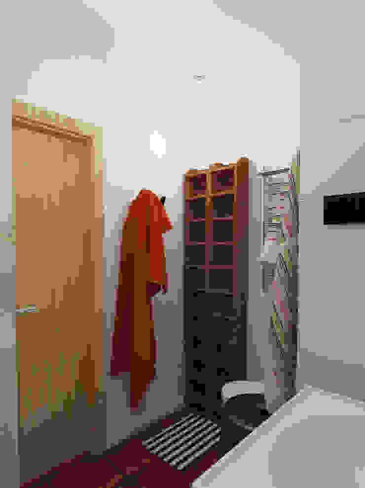 Ванная, вид 2 Ванная комната в скандинавском стиле от Марина Козлова Скандинавский