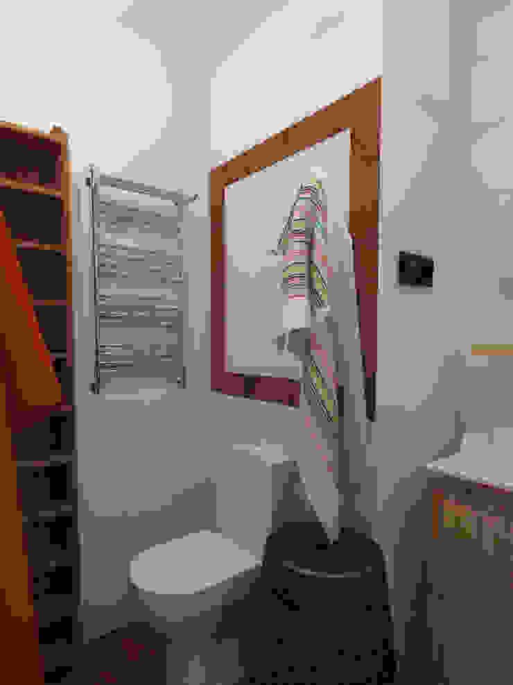 Ванная, вид 3 Ванная комната в скандинавском стиле от Марина Козлова Скандинавский