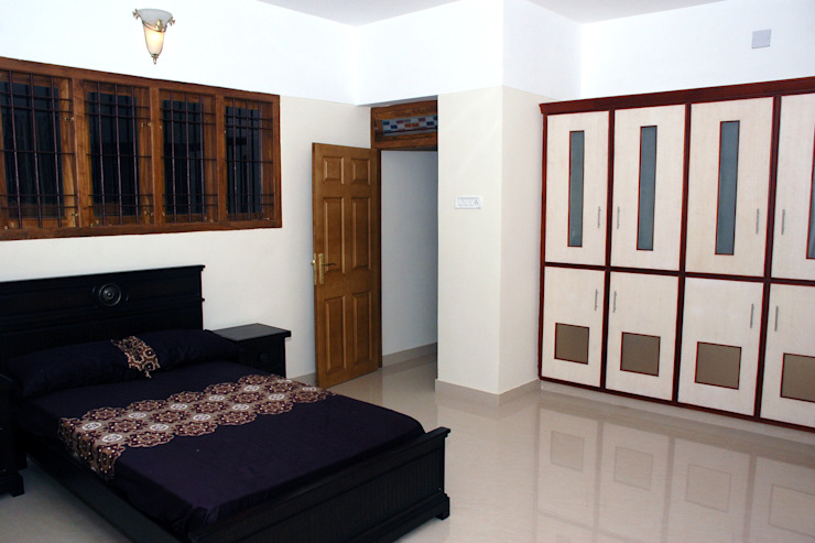 Krishnakumar Residence Classic style bedroom by dd Architects Classic