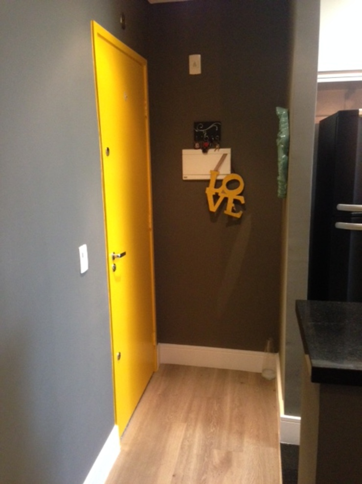 Projeto apartamento Barueri por JR Interiores e Organização Moderno