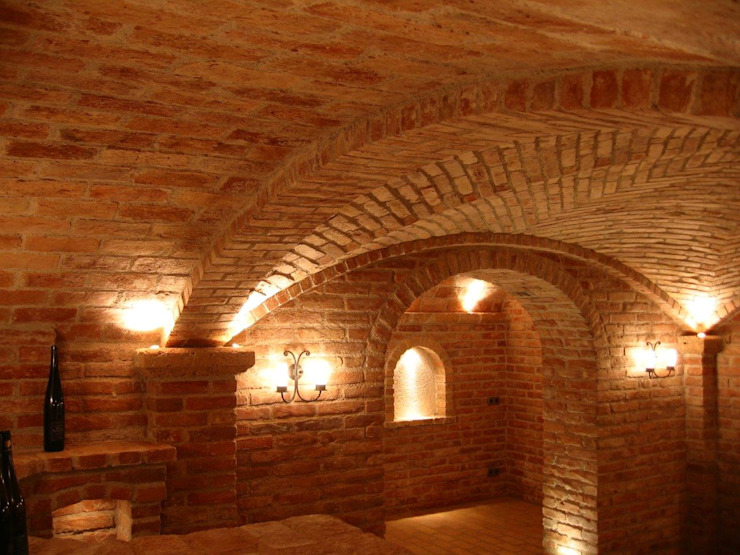 Hầm rượu theo Gröll Gewölbebau GmbH&CO.KG, Hiện đại
