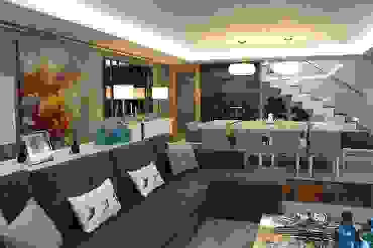 Modern living room by Grupo HC Modern