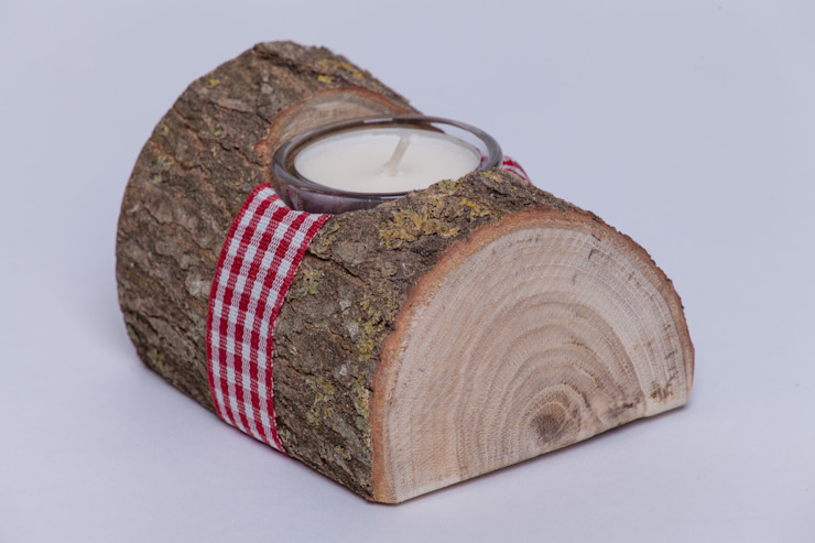 de estilo  por Woods - Holzdekoration & mehr, Rural Madera Acabado en madera