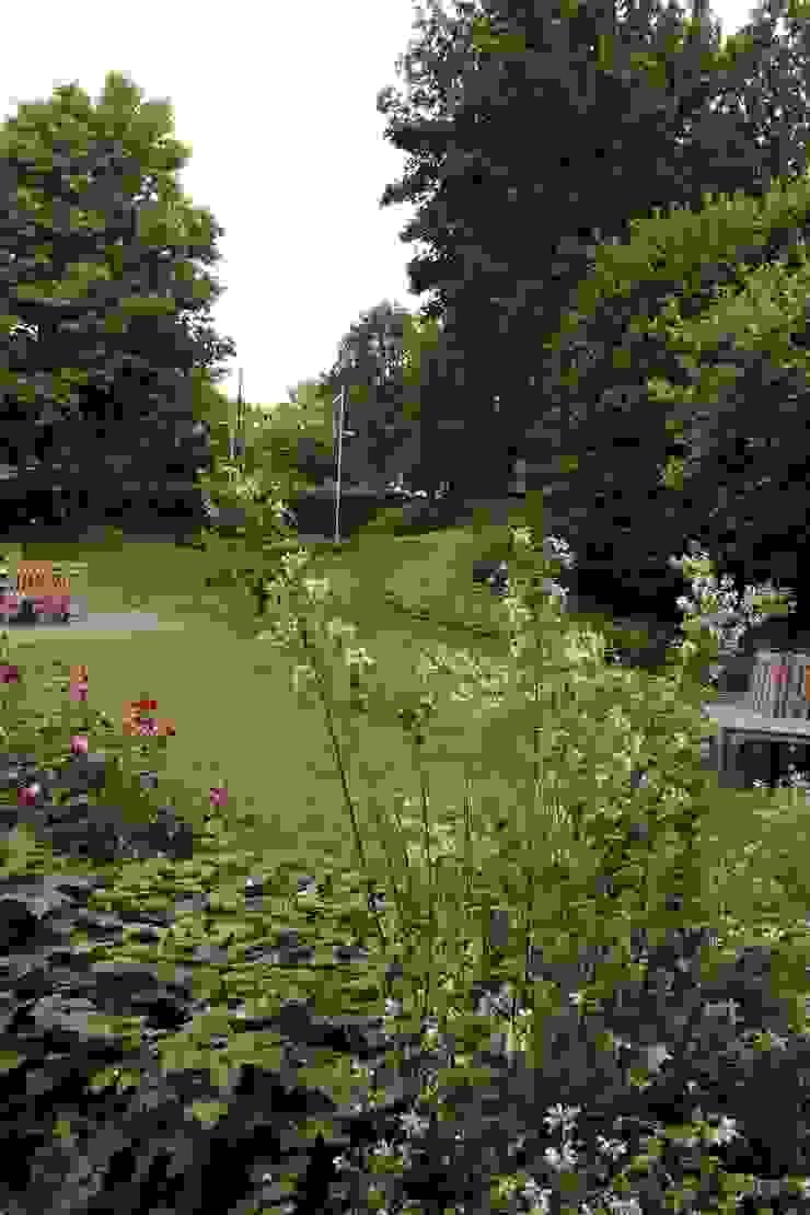 Villa tuin Rhenen Landelijke tuinen van Buro Floris Landelijk