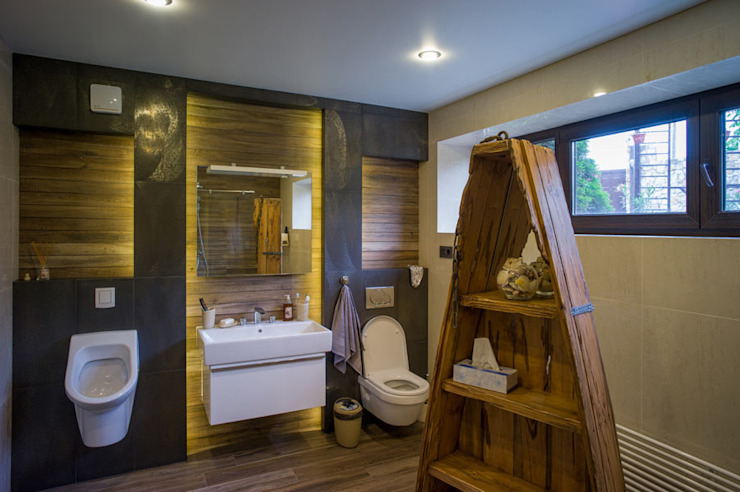 Ванная комната в эклектичном стиле от homify Эклектичный