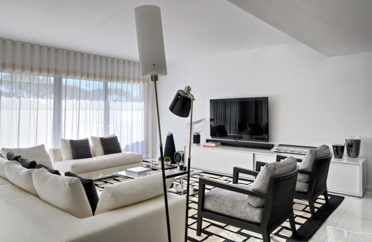 Silvia Costa   Arquitectura de Interiores ห้องนั่งเล่น