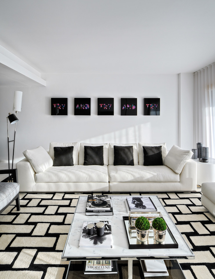 Silvia Costa | Arquitectura de Interiores Modern living room
