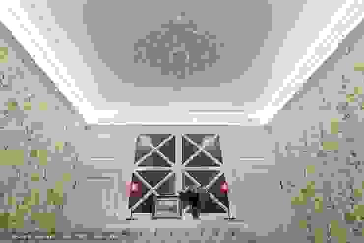 Трехкомнатная квартира в центре Петербурга в традиционном стиле Стены и пол в классическом стиле от Ольга Кулекина - New Interior Классический