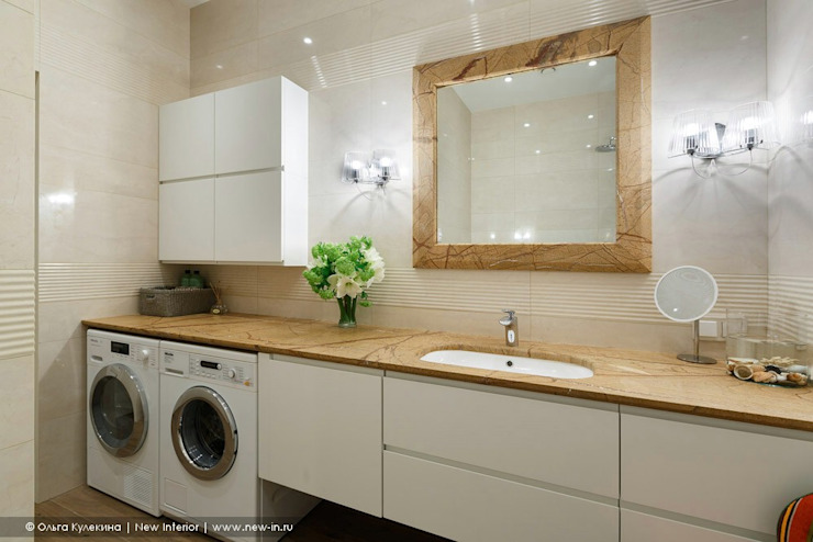 Трехкомнатная квартира в центре Петербурга в традиционном стиле Ванная в классическом стиле от Ольга Кулекина - New Interior Классический