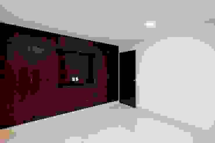Recámara Dormitorios minimalistas de JF ARQUITECTOS Minimalista