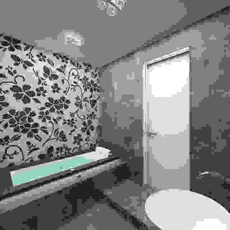 http://www.anfilada-studio.ru/xolodnyj-minimalizm/ Ванная комната в стиле минимализм от Anfilada Interior Design Минимализм